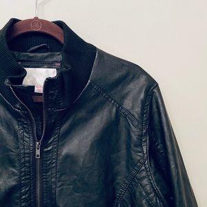 NWOT Xhilaration Faux Leather Jacket